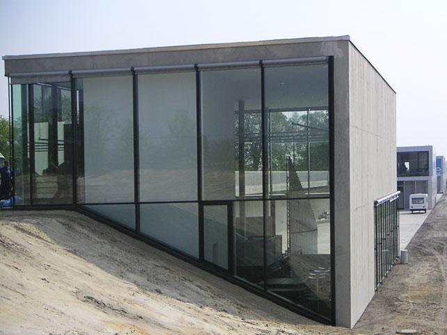 Glasfassade  Referenzen Glasfassaden | Systembau-Roeck