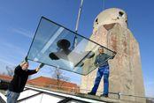 Sonderbau Sanierung der Glasdächer Amtsgericht Bad Liebenwerda